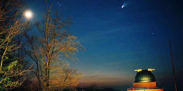 にちはら天文台から見られる本州一の星空